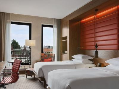 bedroom 3 - hotel hilton the hague - the hague, netherlands