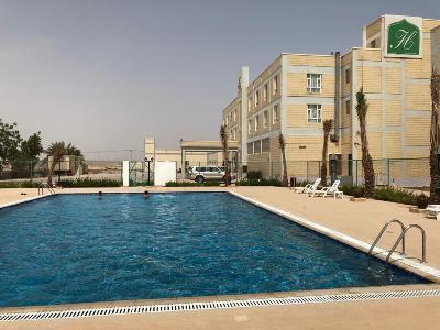 exterior view - hotel resort ras al hadd holiday - sur, oman