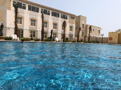 outdoor pool - hotel resort ras al hadd holiday - sur, oman