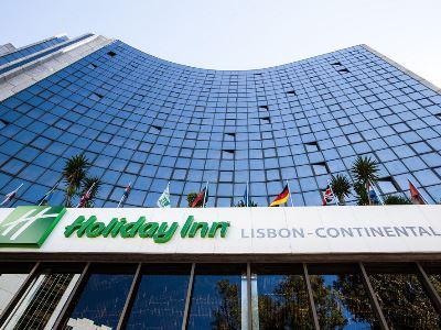 exterior view - hotel holiday inn continental - lisbon, portugal