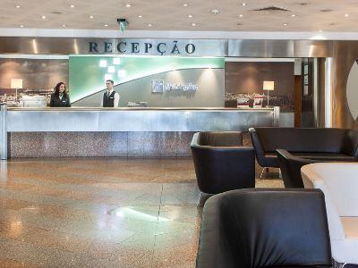 lobby - hotel holiday inn continental - lisbon, portugal