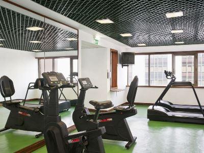 gym - hotel holiday inn continental - lisbon, portugal