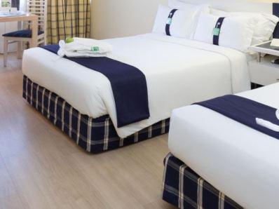 bedroom 4 - hotel holiday inn lisbon - lisbon, portugal