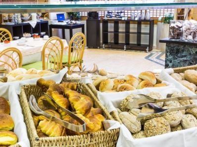 breakfast room - hotel holiday inn lisbon - lisbon, portugal