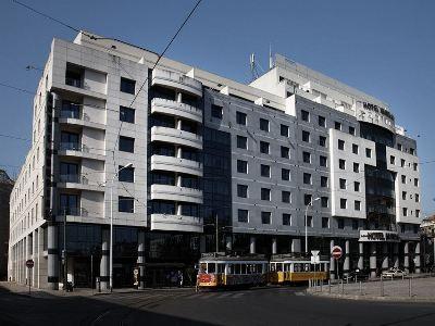 exterior view - hotel mundial - lisbon, portugal