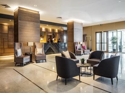 lobby - hotel crowne plaza porto - porto, portugal