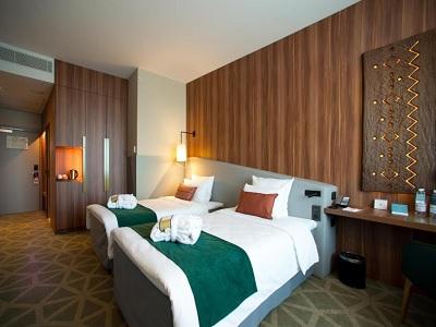 bedroom - hotel mercure saransk center - saransk, russia
