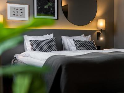 bedroom - hotel scandic park stockholm - stockholm, sweden