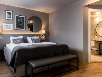 bedroom 1 - hotel scandic park stockholm - stockholm, sweden