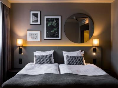 bedroom 2 - hotel scandic park stockholm - stockholm, sweden