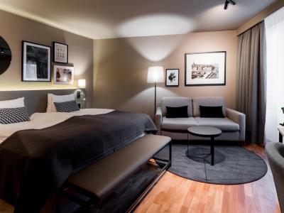 bedroom 3 - hotel scandic park stockholm - stockholm, sweden