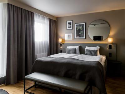 bedroom 4 - hotel scandic park stockholm - stockholm, sweden