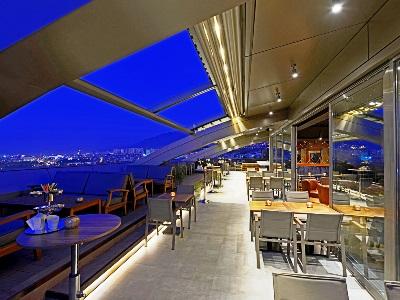 bar - hotel movenpick bursa thermal spa - bursa, turkey
