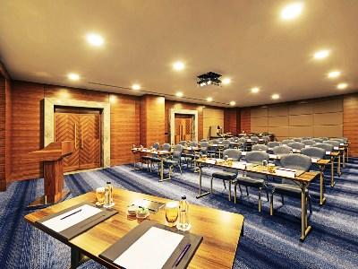 conference room - hotel movenpick bursa thermal spa - bursa, turkey
