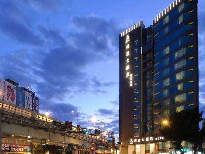 exterior view - hotel k hotel dunnan - taipei, taiwan