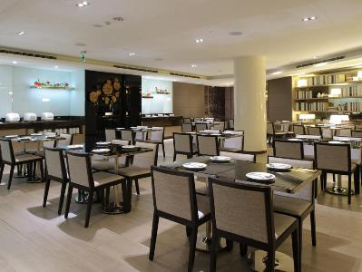 breakfast room - hotel k hotel dunnan - taipei, taiwan