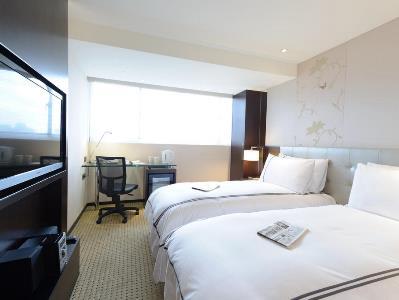 bedroom 1 - hotel k hotel dunnan - taipei, taiwan