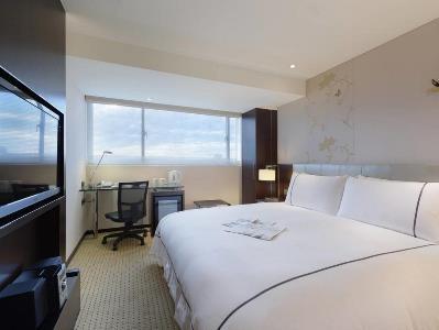 bedroom - hotel k hotel dunnan - taipei, taiwan