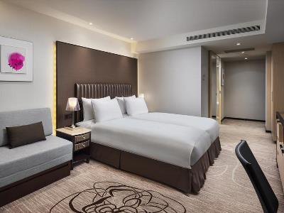 bedroom 1 - hotel k hotel chang-an - taipei, taiwan