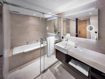 bathroom - hotel k hotel chang-an - taipei, taiwan