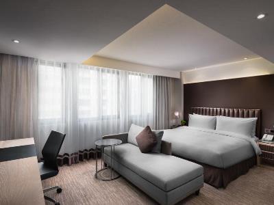 bedroom - hotel k hotel chang-an - taipei, taiwan