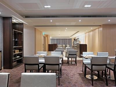 breakfast room - hotel k hotel songjiang - taipei, taiwan