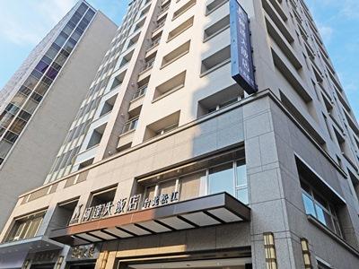exterior view - hotel k hotel songjiang - taipei, taiwan