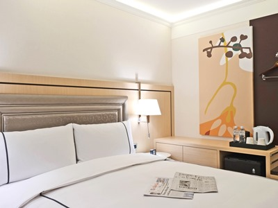 bedroom 1 - hotel k hotel songjiang - taipei, taiwan
