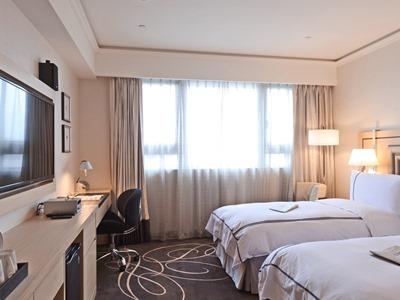 bedroom 4 - hotel k hotel songjiang - taipei, taiwan