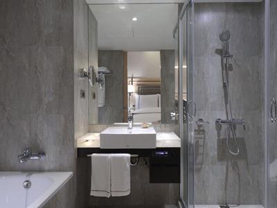 bathroom - hotel k hotel songjiang - taipei, taiwan