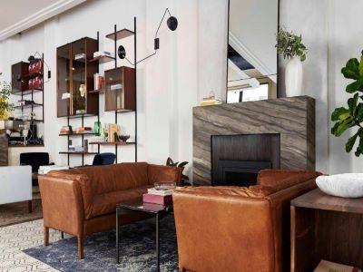 lobby - hotel walker hotel tribeca - new york, united states of america
