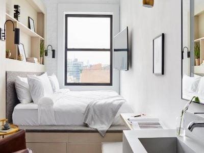 bedroom - hotel walker hotel tribeca - new york, united states of america