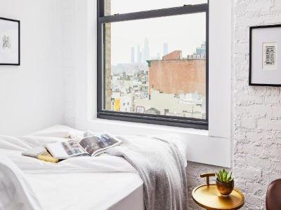 bedroom 1 - hotel walker hotel tribeca - new york, united states of america