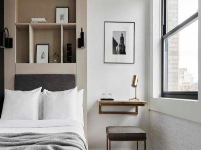 bedroom 2 - hotel walker hotel tribeca - new york, united states of america