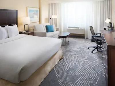 bedroom - hotel doubletree los angeles commerce - commerce, california, united states of america
