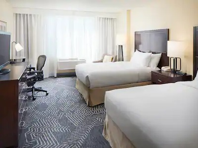 bedroom 1 - hotel doubletree los angeles commerce - commerce, california, united states of america