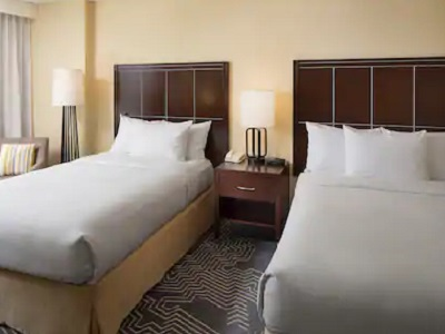 bedroom 3 - hotel doubletree los angeles commerce - commerce, california, united states of america