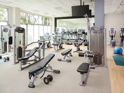 gym - hotel doubletree los angeles commerce - commerce, california, united states of america