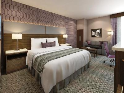 bedroom 1 - hotel best western plus commerce - commerce, california, united states of america