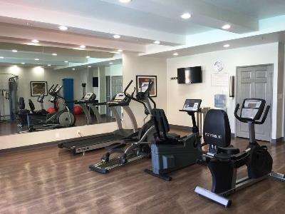 gym - hotel best western plus commerce - commerce, california, united states of america