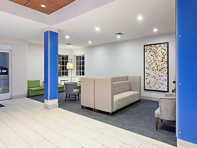 lobby 1 - hotel holiday inn express and suites corona - corona, california, united states of america