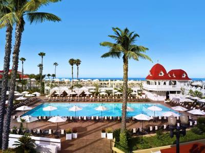 exterior view 1 - hotel del coronado, curio collection by hilton - coronado, united states of america