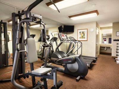 gym - hotel ramada wyndham costa mesa/newport beach - costa mesa, california, united states of america