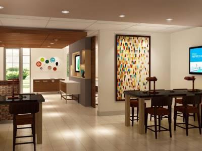 lobby 2 - hotel holiday inn exp n suites-university area - davis, united states of america