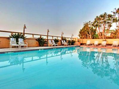 outdoor pool - hotel holiday inn diamond bar - diamond bar, united states of america