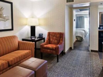 bedroom 1 - hotel embassy suites los angeles downey - downey, united states of america
