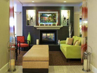 lobby - hotel hilton garden inn sfo oakland bay bridge - emeryville, united states of america
