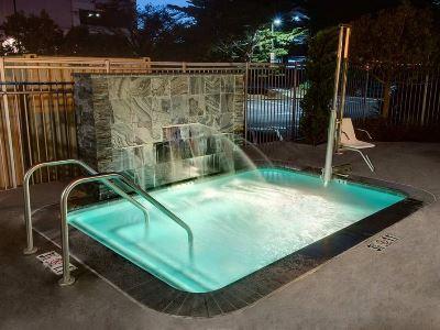 outdoor pool - hotel hilton garden inn sfo oakland bay bridge - emeryville, united states of america
