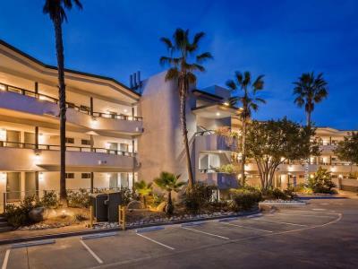 exterior view - hotel best western encinitas moonlight beach - encinitas, united states of america