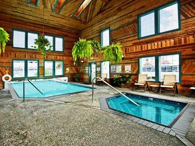 indoor pool - hotel best western plus bayshore inn - eureka, california, united states of america